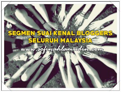SEGMEN SUAI KENAL BLOGGERS SELURUH MALAYSIA: NICKNAME 'AI'