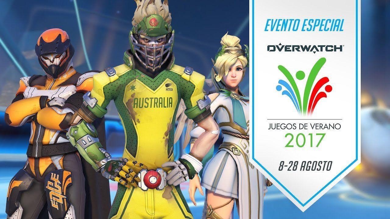 Ya disponibles Los Juegos de Verano de Overwatch, ¡pedazo de skins!