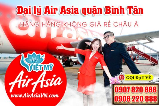Đại lý Air Asia quận Bình Tân