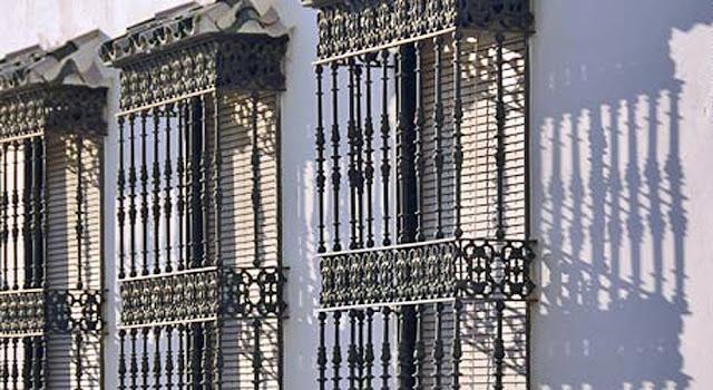 Rejas de hierro instaladas como proteccin de ventanas t - Forja en cordoba ...