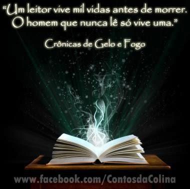 Frases com fotos para Facebook Google Plus e outras redes sociais-livros-George R. R. Martin