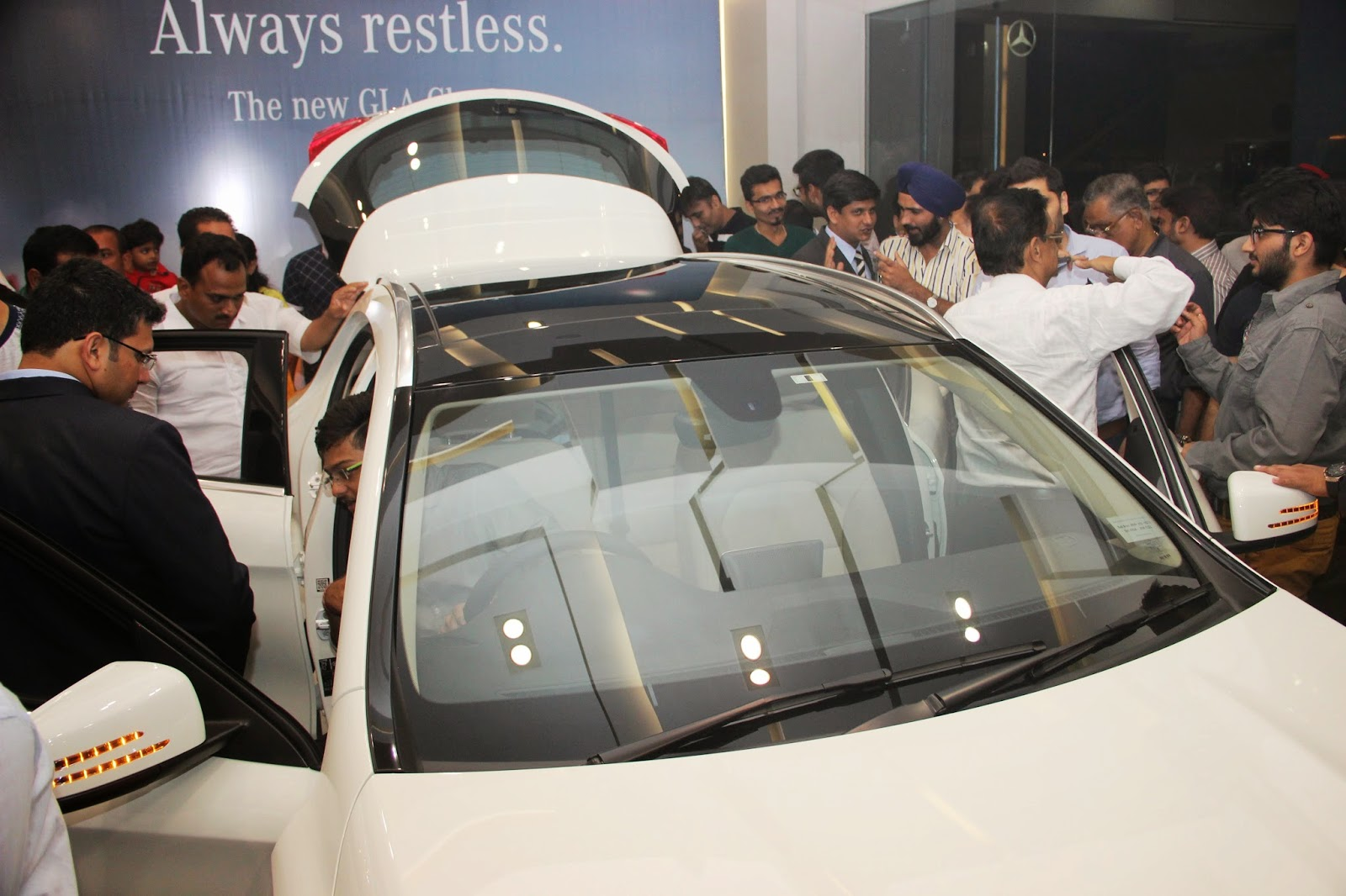 Mercedes Benz GLA-Class Preview Launch at Shaman Wheels,Kalina