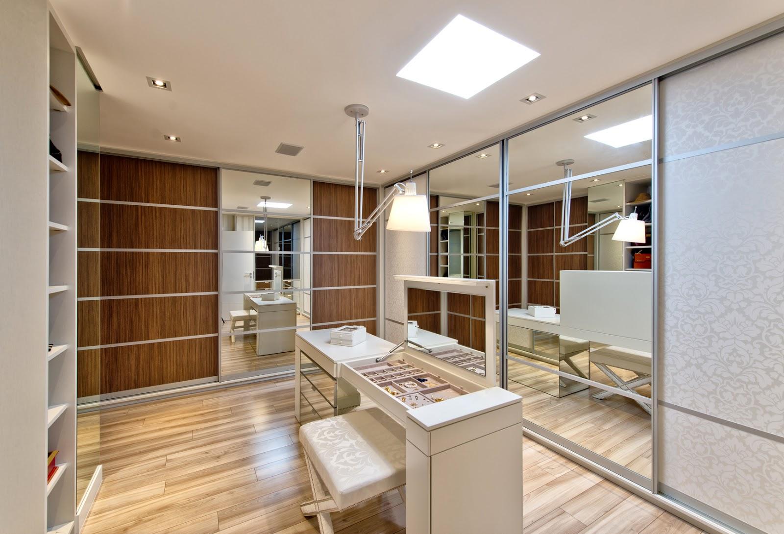 Construindo Minha Casa Clean 15 Closets Com Ilhas Veja Modelos