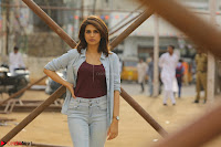 Shraddha Das in a Lovely Brown Top and Denim jeans ~ Exclusive Unseen Beauty HD Pics 008.JPG