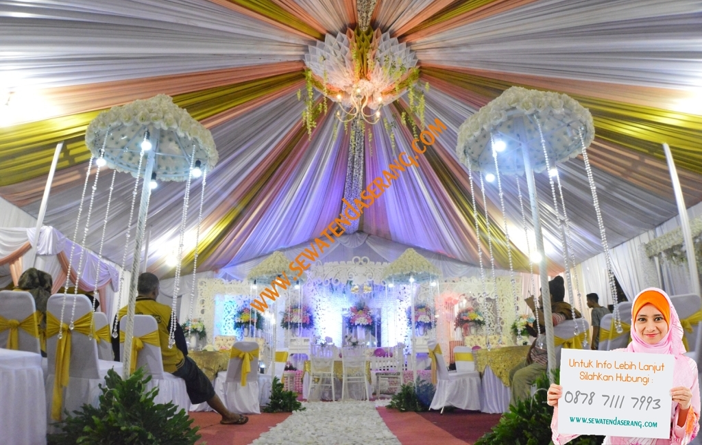 Tenda Dekorasi Serut (Sentris) ~ Sewatendaserang.com ...