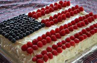 USA republic day flag of cake wallpapers