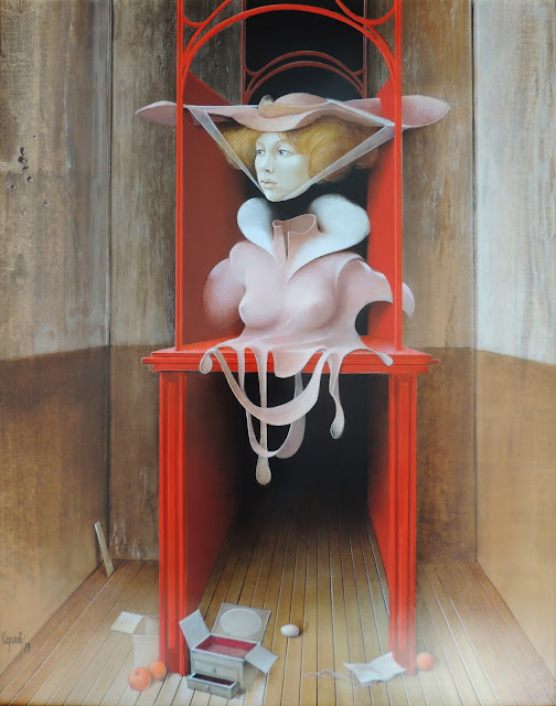 Glauco Capozzoli pintura mujer