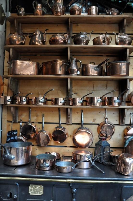 Vignette Design Copper Pot Love