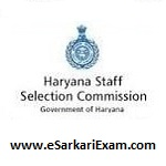 Haryana SSC Various Post Recruitment 2019