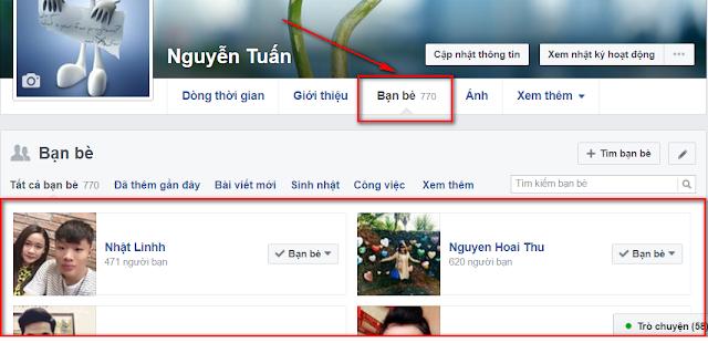 Xem ai hay ghé thăm tường Facebook của bạn