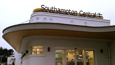 Southampton Central art deco station