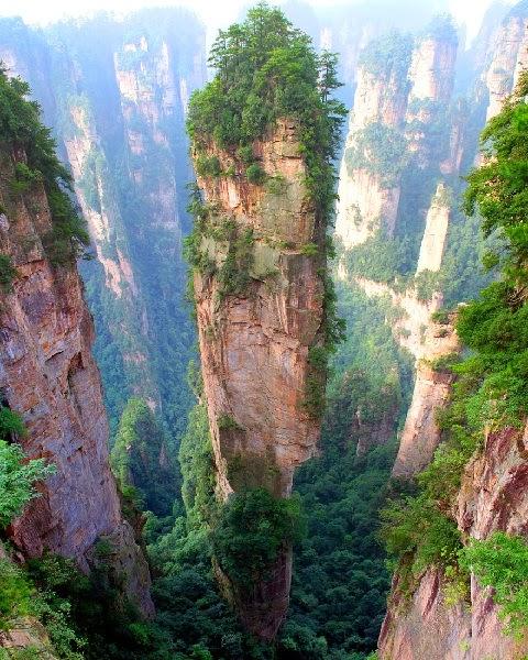 Tianzi hegység, Kína
