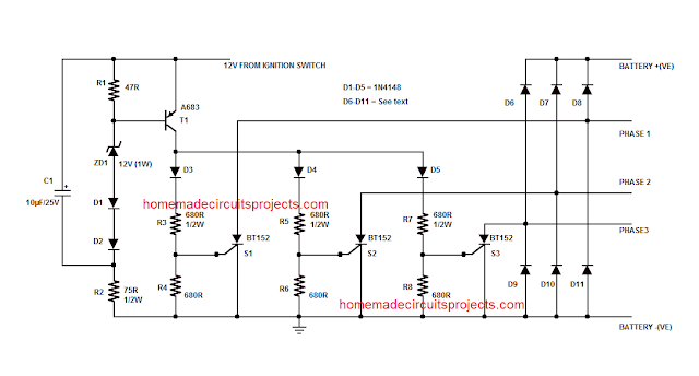 SCR Shunt Regulator  circuit
