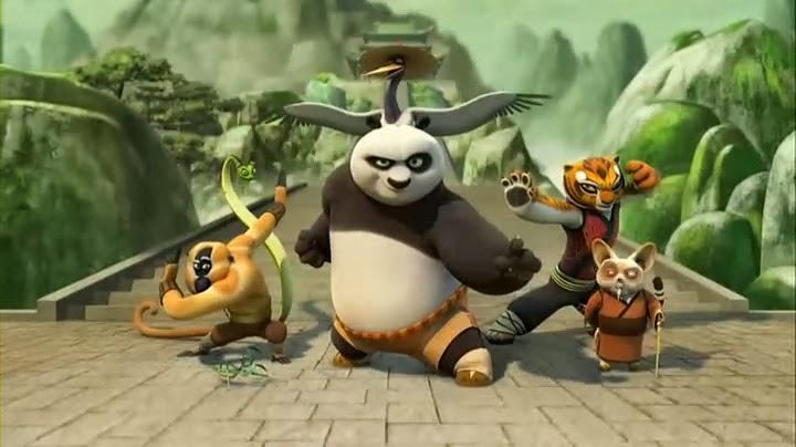 Kung Fu Panda: Legends Of Awesomeness The Scorpion Sting Rmvb ...