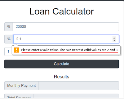 How to Enter Floating-Point/Decimal Values in HTML5 Forms