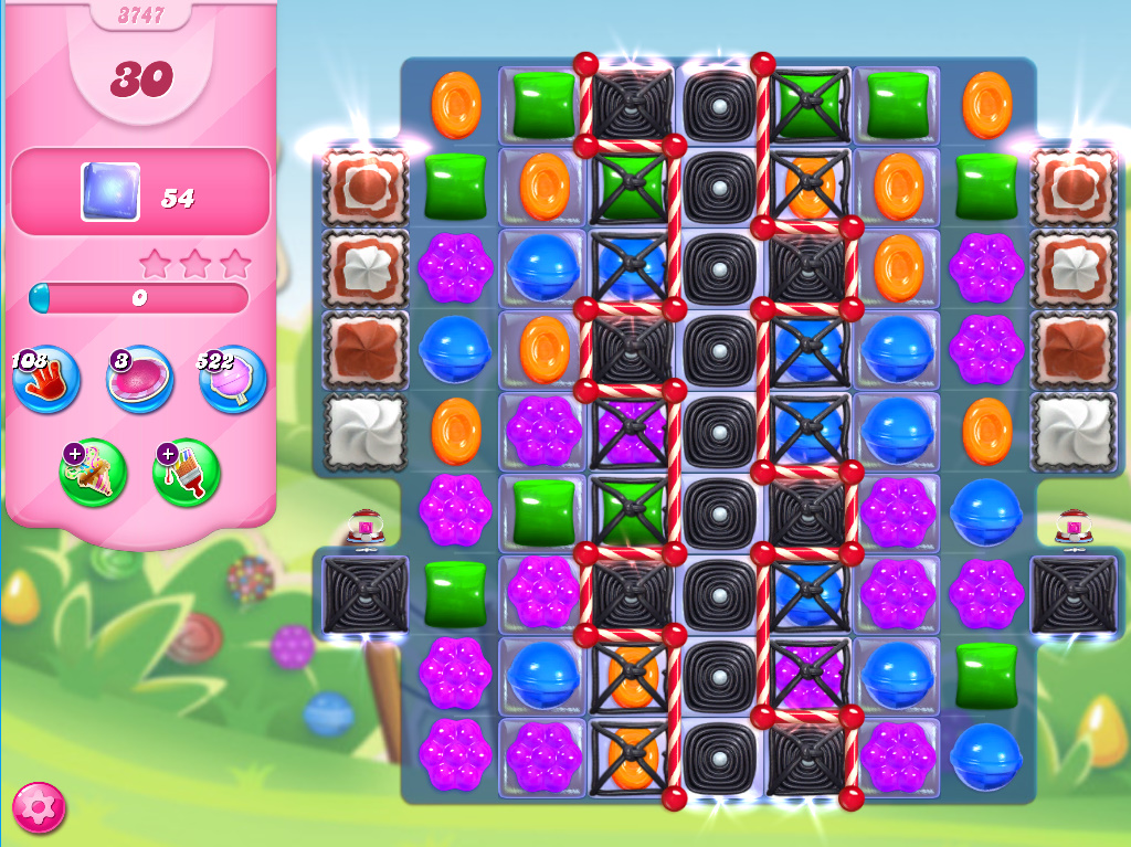 Candy Crush Saga level 3747