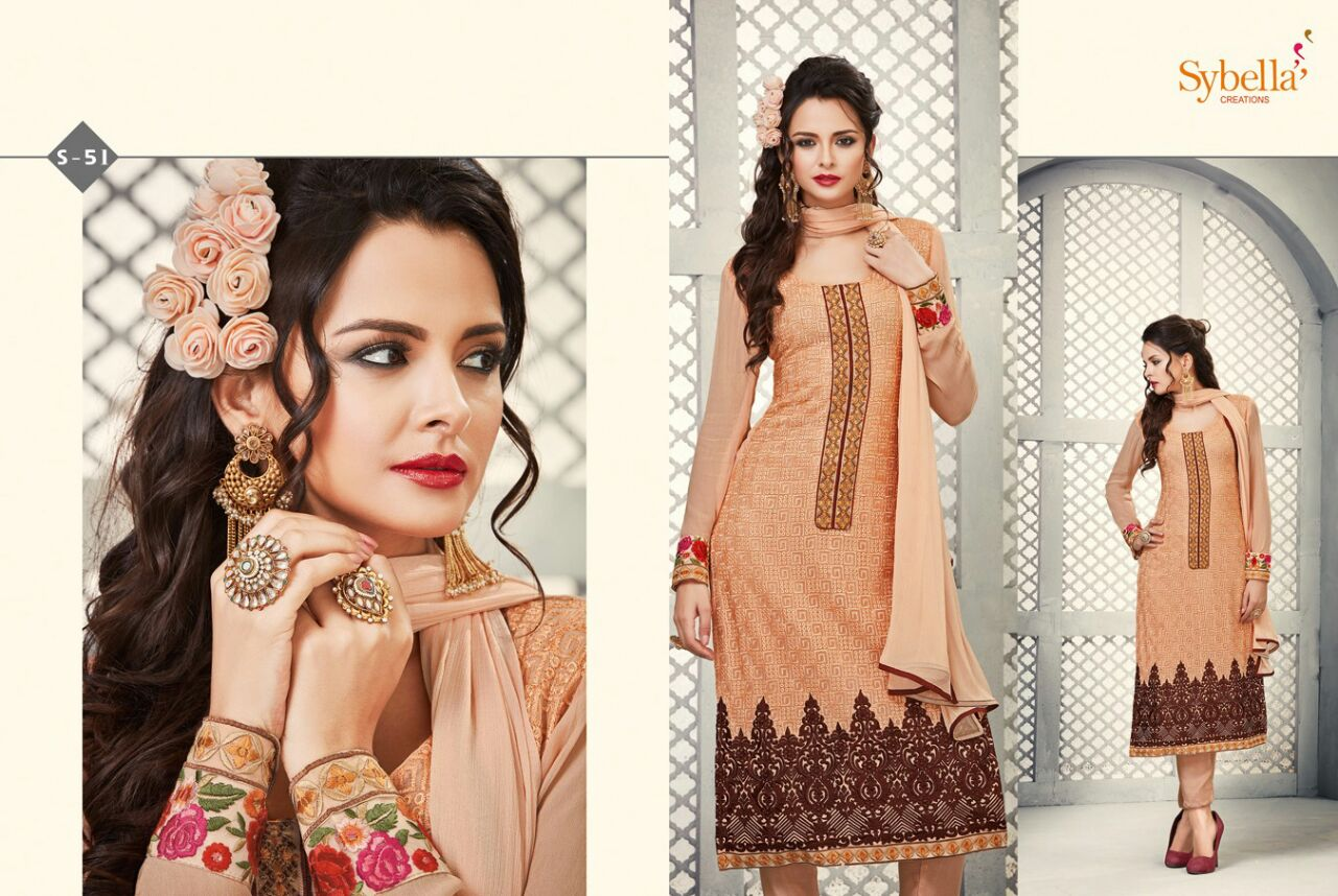Sybella – Beautiful Fancy Fashionable Salwar Suit – Wholesale Supplier