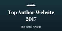 NAMED ONE OF THE WRITER AWARDS TOP AUTHOR WEBSITES OF 2017!