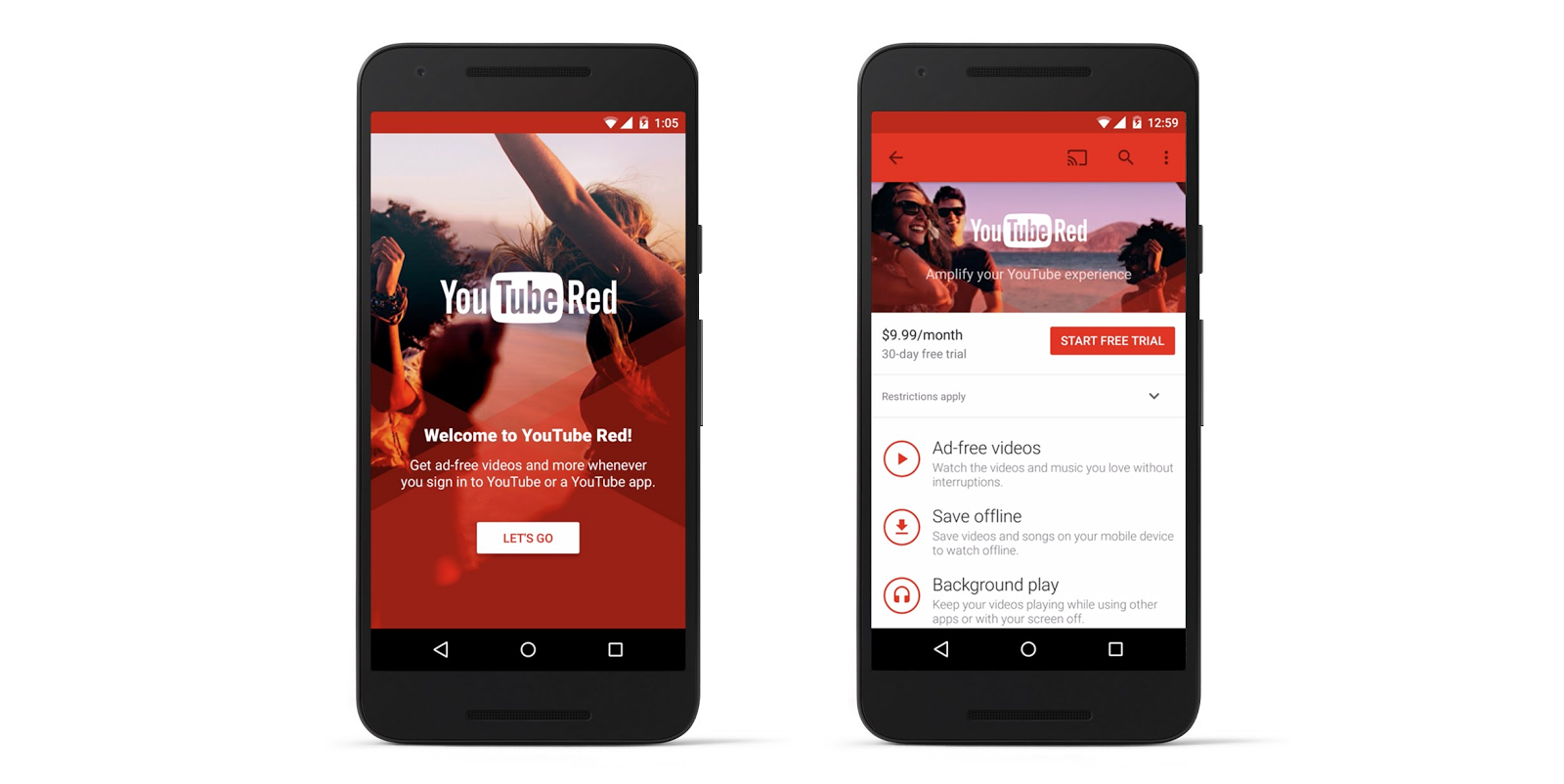 download youtube red apk for android