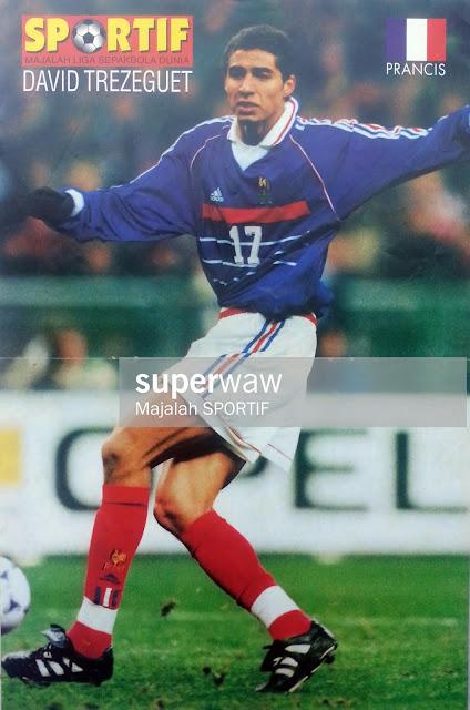 DAVID TREZEGUET FRANCE 1998