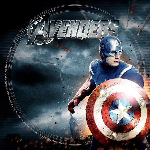 Label DVD/Bluray The Avengers