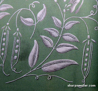 Ann's Orchard Pea Green Clutch Bag: Experimenting with more greys