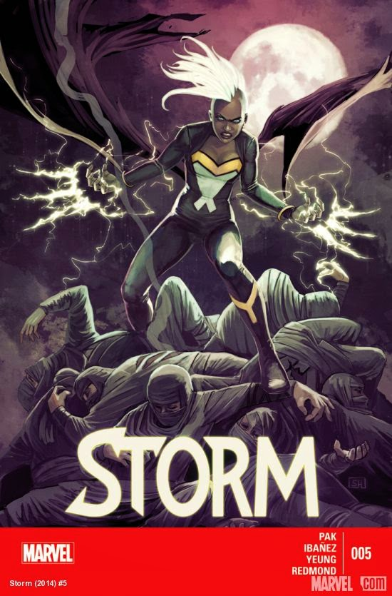 Storm's homage to Wolverine