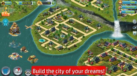 cara hack/cheat City Island 3 dengan mudah