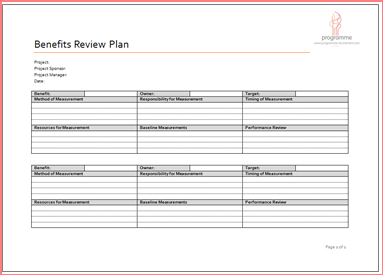 Recruitment Plan Template | Resume Business Template