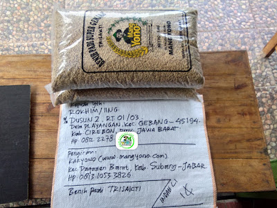 Benih pesanan ROKHIM Cirebon, Jabar.   (Sebelum Packing)