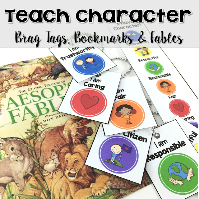 Great post on incorporating brag tags to introduce and reinforce positive character qualities.