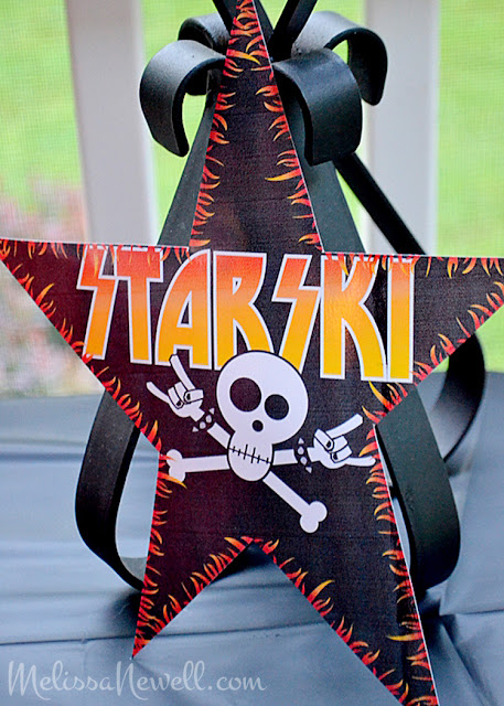 KISS rock star, rock star party decor, rock party decorations, KISS