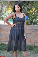 Pragya Nayan New Fresh Telugu Actress Stunning Transparent Black Deep neck Dress ~  Exclusive Galleries 008.jpg
