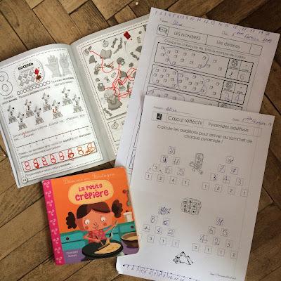 Французский язык для детей, математика на французском языке