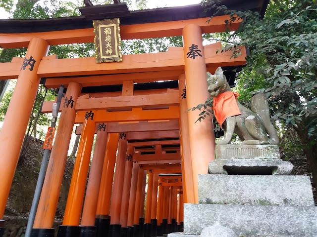 Fushimi inari taisha kyoto giappone