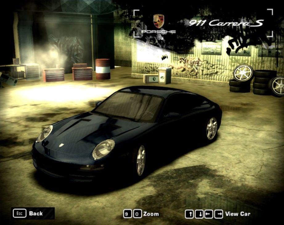 Porsche 911 Carrera S Nfs Most Wanted   Wallpapers Insert
