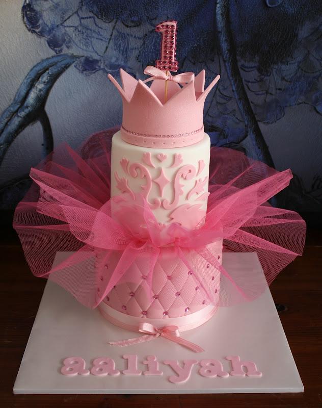 Sandy S Cakes Aaliyah S Princess Tutu 1st Birthday Cake