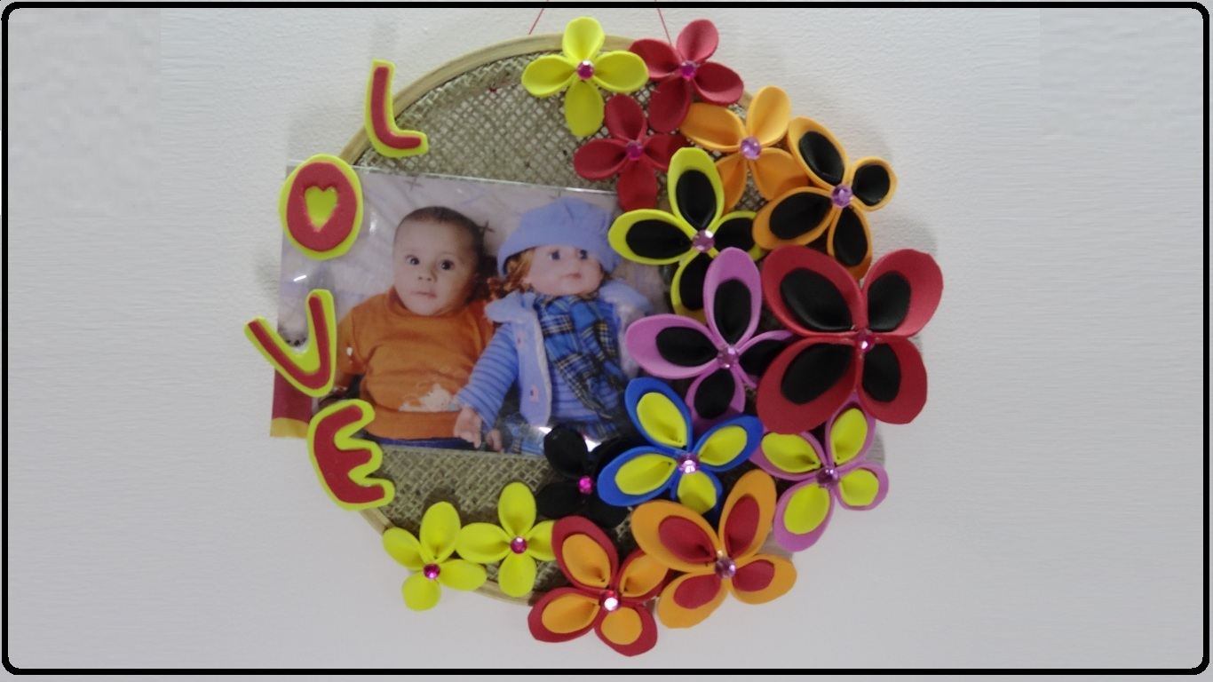 Paper Crafts Photo Frame