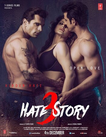 Hate Story 3 (2015) Hindi 720p WEB-DL x264 950MB Movie Download