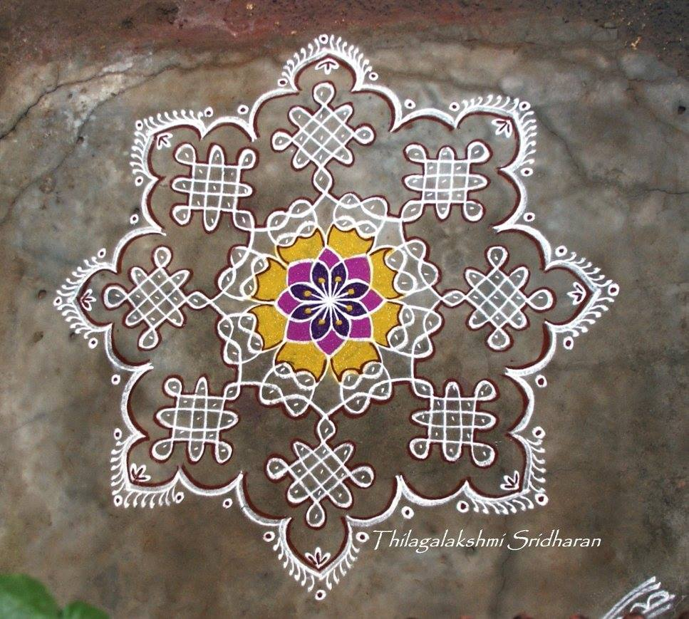 kolam designs for margazhi month