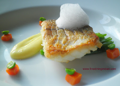 PANFRIED HADDOCK WITH PARSNIP PUREE FINEDININGINDIAN.COM
