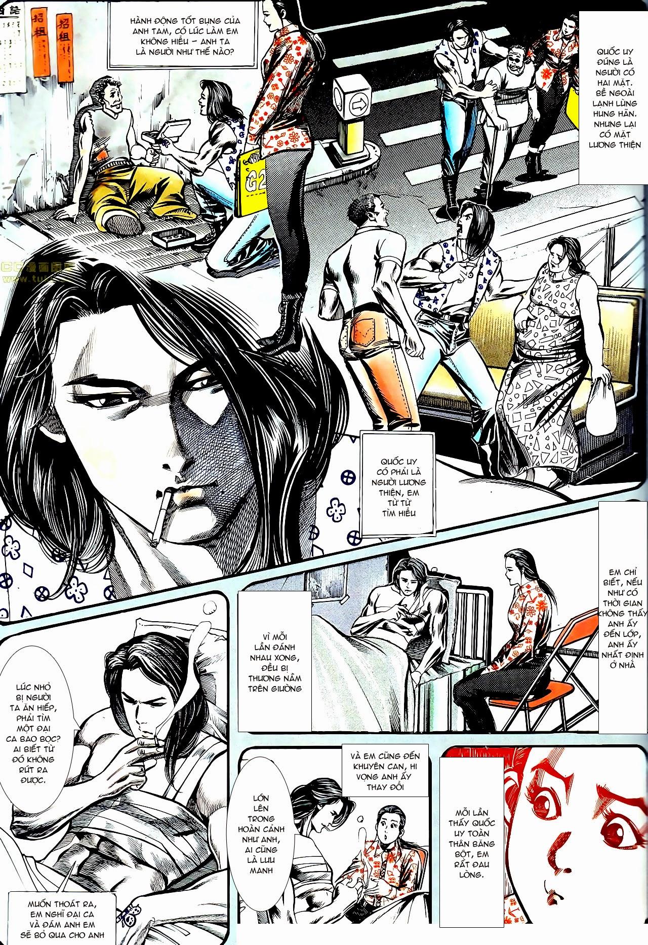Người Trong Giang Hồ chapter 134: tấn công bảo nhi trang 24