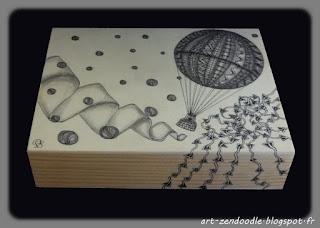 Zendooddle, zen doodle, zentangle, motif, montgofière