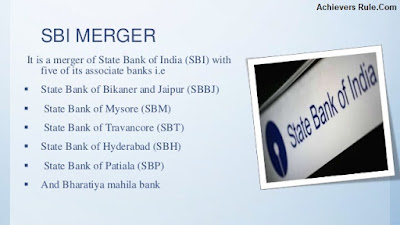 SBI Merger with Five Associate Banks & its Effect
