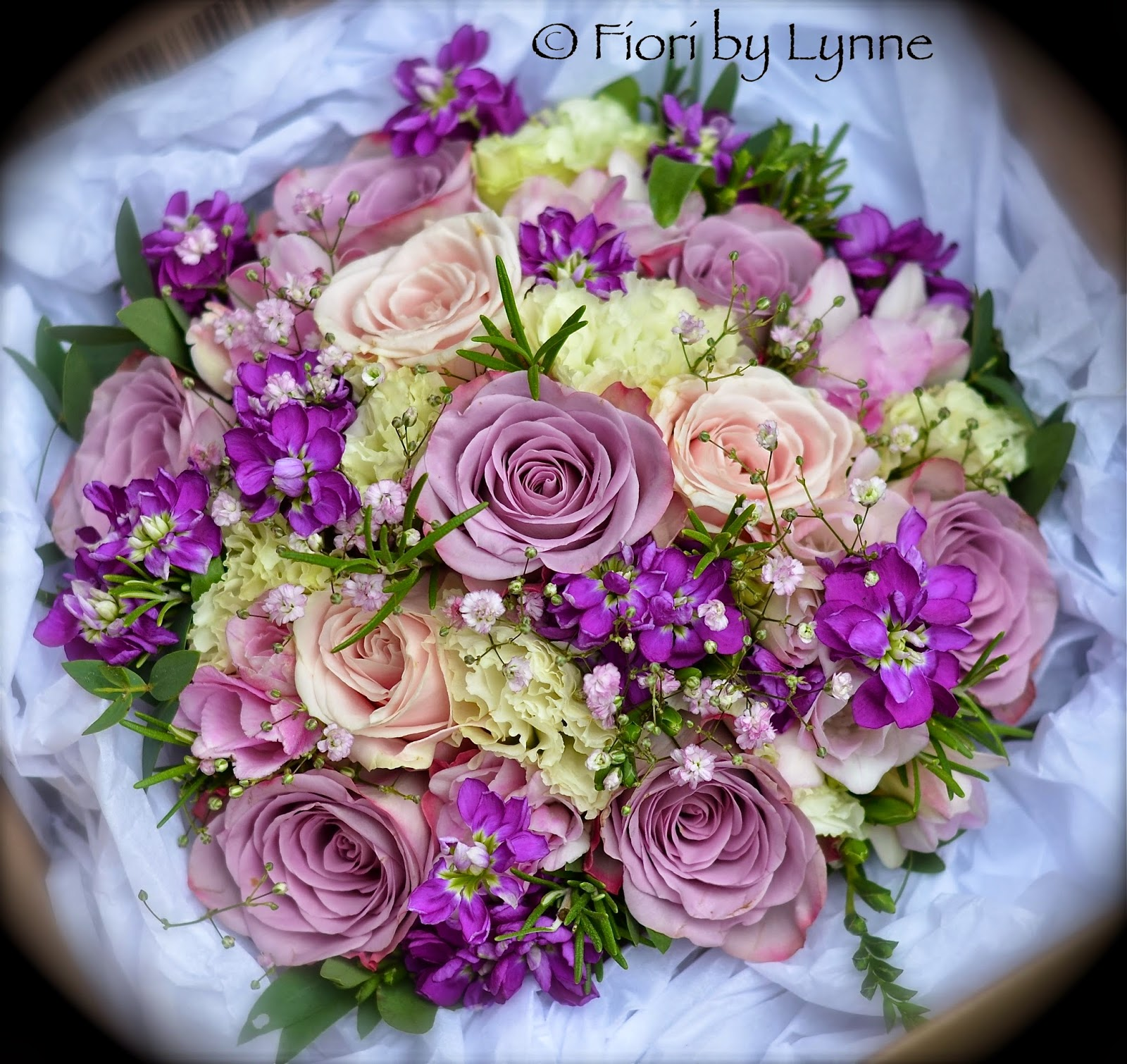 Purple And Pink Wedding Flowers: Wedding Flowers Blog: Laura's Wedding Flowers