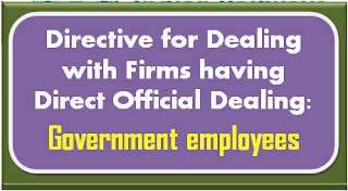 directive-for-dealing-with-firms-having-direct-official