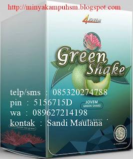 Green Shake, produk minuman kesehatan dari 4jovem pemesanan hubungi sandi maulana