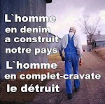 L'homme en denim!