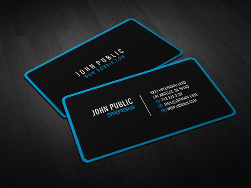Modern Business Cards - Business Card Tips