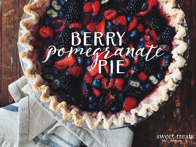 Berry Coconut Pie (AIP, Paleo, Coconut-free)
